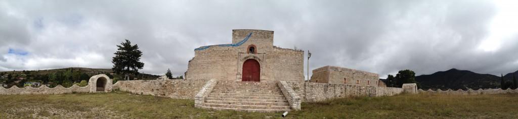 Panorámica desde el frente del templo de San Juan Teposcolula - Foto: PUNTO93